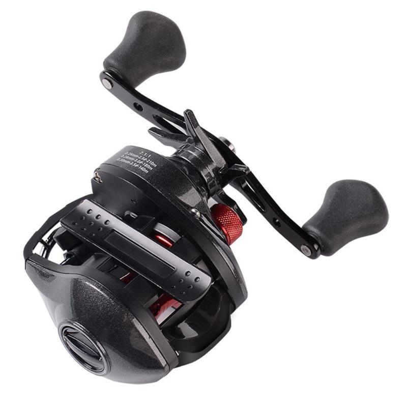 13+1BB 7.1:1 Fishing Reels Magnetic Brake Molinete Carcp low profile reel Feeder Carretilha de pesca shimano