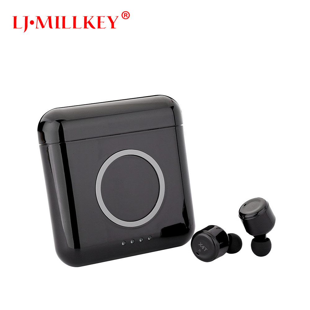 Touch Control Hifi Wireless Earbuds TWS Mini Wireless Earphone Bluetooth Earphones Headset for phone LJ-MILLKEY YZ159