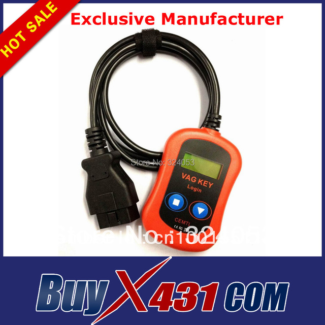 wholesale 5pcs /lot Newly QualityA+ VAG PIN Code Reader Key Programmer via OBD2 Diagnostic Scanner support VW Seat  Skoda ect