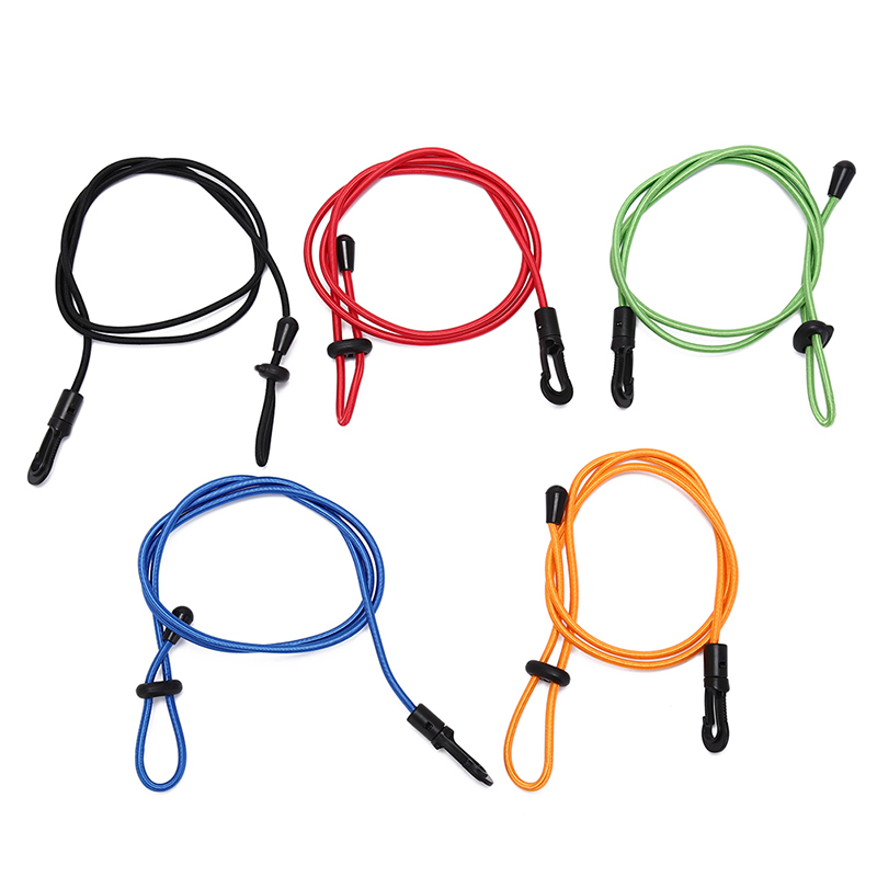 Elastic Paddle Leash Tie Rope Bungee Fishing Rod with Hook for Kayak Canoe Hot