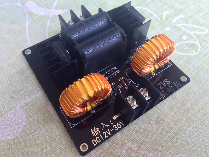 ZVS driver board, tap less ZVS, Tesla coil power supply, high voltage generator driver board, цена