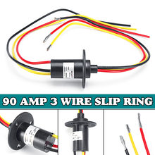 Wind Power Slip Ring Slip 3 Wire Circuit Slip Ring 30A 600V DC/AC Electric Collector Rings 22*45 mm MW1330(China)