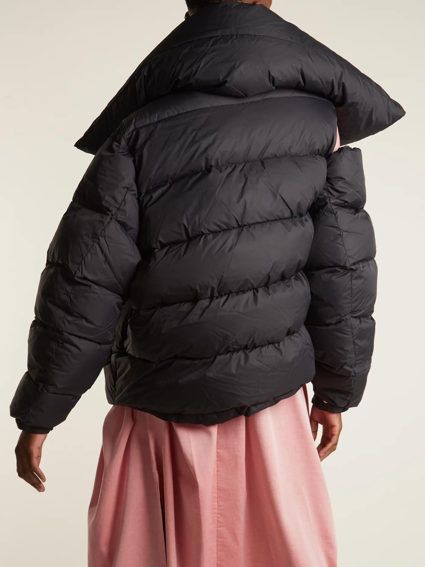 Automne Bouton Aucun Pardessus Court Irrégulière Survêtement 2019 Qualité Fahion Coton Slim Rembourré Puffy Hiver Manteau Noir Hight Chaud zOc5WcqR