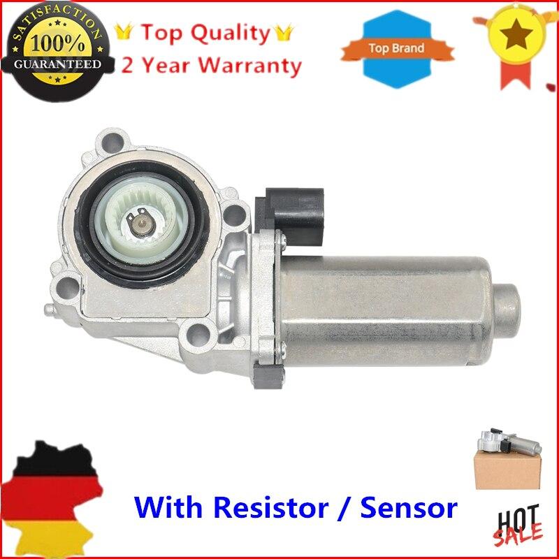 Nouveau Transfert Case Shift Moteur Actionneur avec Résistance (Capteur) pour BMW X3 E83 X5 E53 E70 F15 F85 F25 ATC400/ATC500/ATC700
