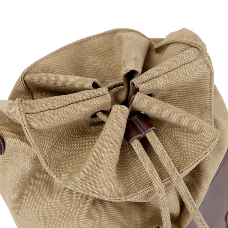 High Quality Vintage Fashion Casual Lerret Microfiber Lær Kvinner - Ryggsekker - Bilde 5