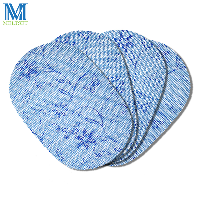 4pcs/Set Vinyl Placemats Oval Kitchen Placemats for Dining Table Set of 4 Table Mats