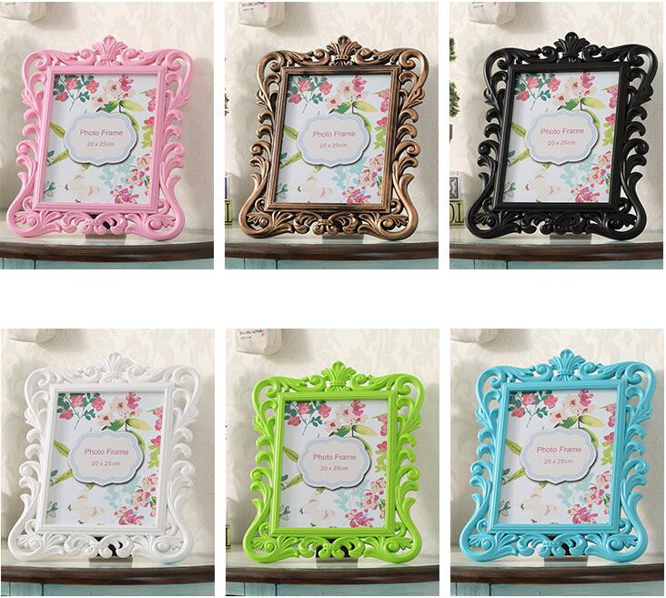 Fine 20pcs Lot Baroque Photo Frame Wedding Party Favor