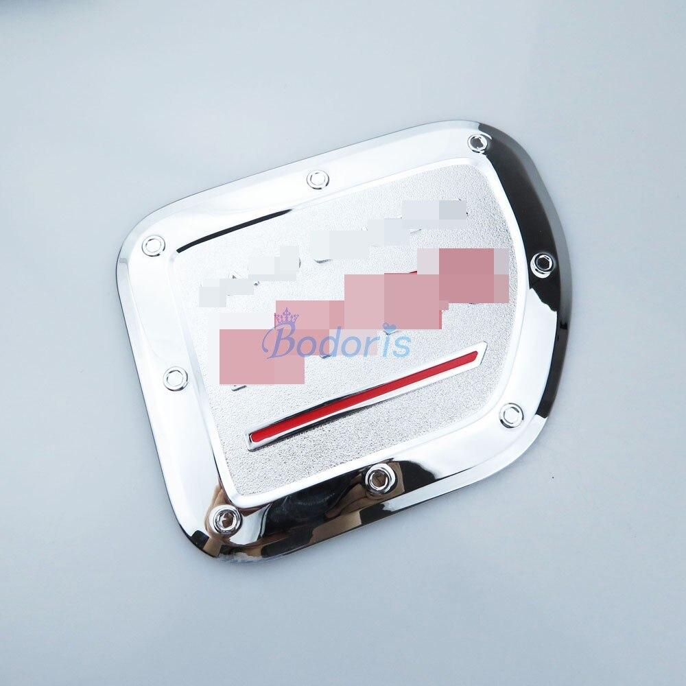 ABS Chrome fuel tank cover oil gas cap trim For Toyota Prado FJ150 2010-2018