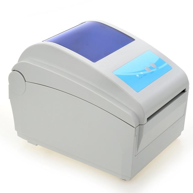 De alta velocidad de 4-8 pulgadas/s Max ancho de impresión 104mm Térmica impresora de etiquetas de código QR código de barras impresora Térmica Express superficie única impresora