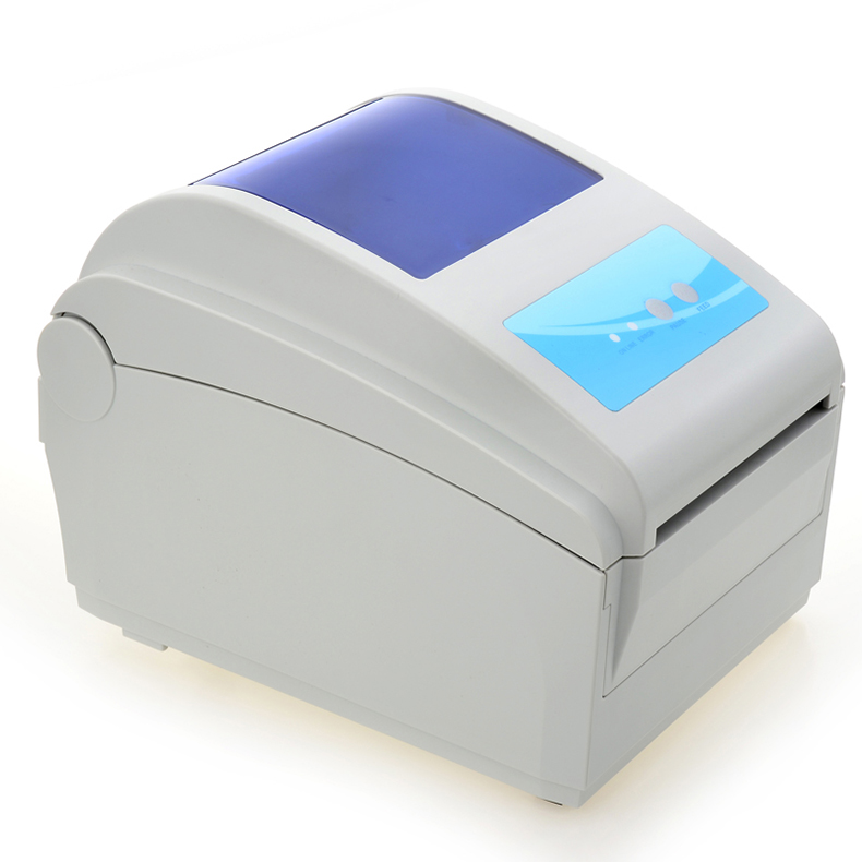 High speed 4-8inch/s Max print width 104mm Thermal label printer QR code Thermal barcode printer Express surface single printer supermarket direct thermal printing label code printer