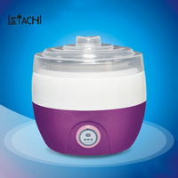 Electric multifunction Yogurt Machine Stainless Steel Liner Mini Automatic Yogurt Maker 1L Capacity Kitchen Appliances Breakfast
