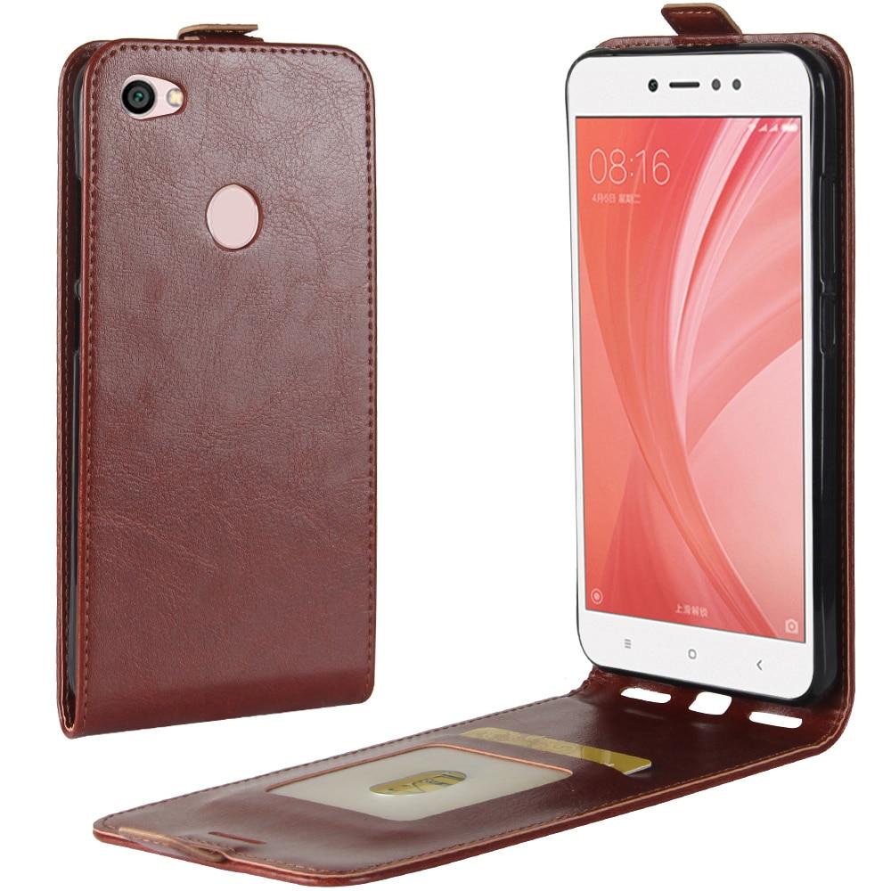 Note5A чехол для Xiaomi Hongmi Примечание 5A Пух открытым Стиль Чехлы Флип кожаный толстый твердый слот для карты защитную крышку черный HM Redmi