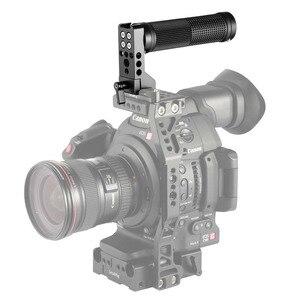 """Image 4 - SmallRig DSLR מצלמה יד אחיזה QR נאט""""ו ידית (גומי) DIY ידית אחיזה עבור SmallRig A6500 , BMPCC 4K / 6K מצלמה כלוב 2005"""