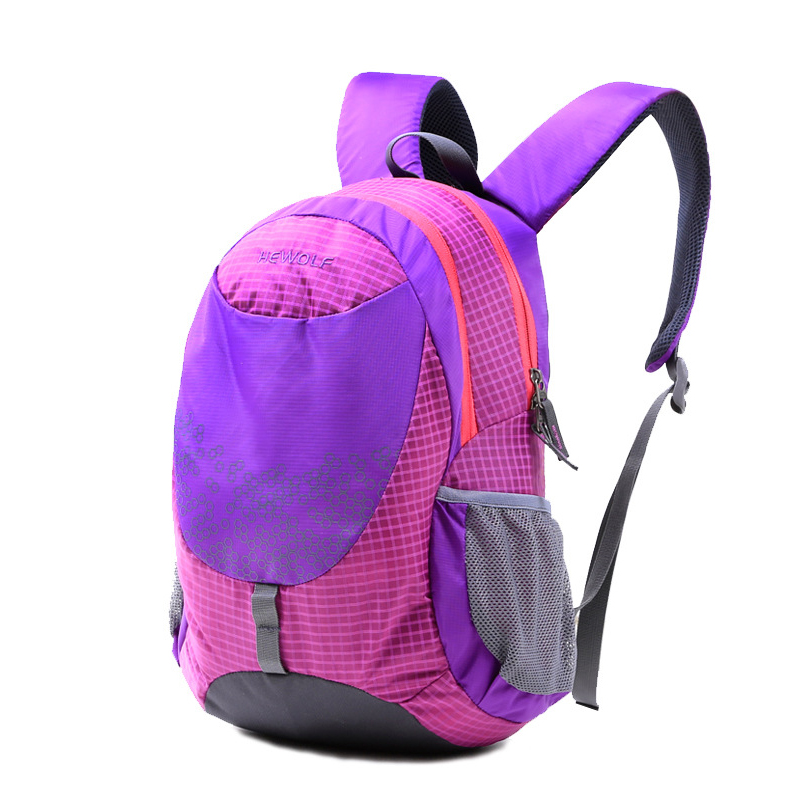 Travel Outdoor Sport Camping Hiking Bag Rucksack High Quality Lightweight Waterproof Nylon Women Men Children Skin Pack Backpack