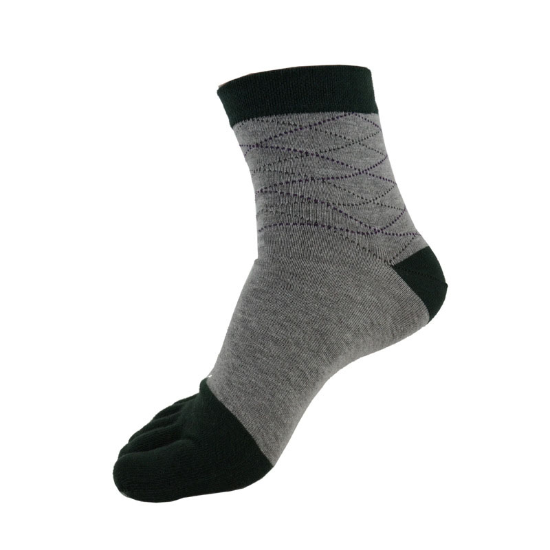 Brand Men Five Toe Socks Male Casual Combed Cotton Funny Socks Buisiness Socks High Quality Five Finger Socks