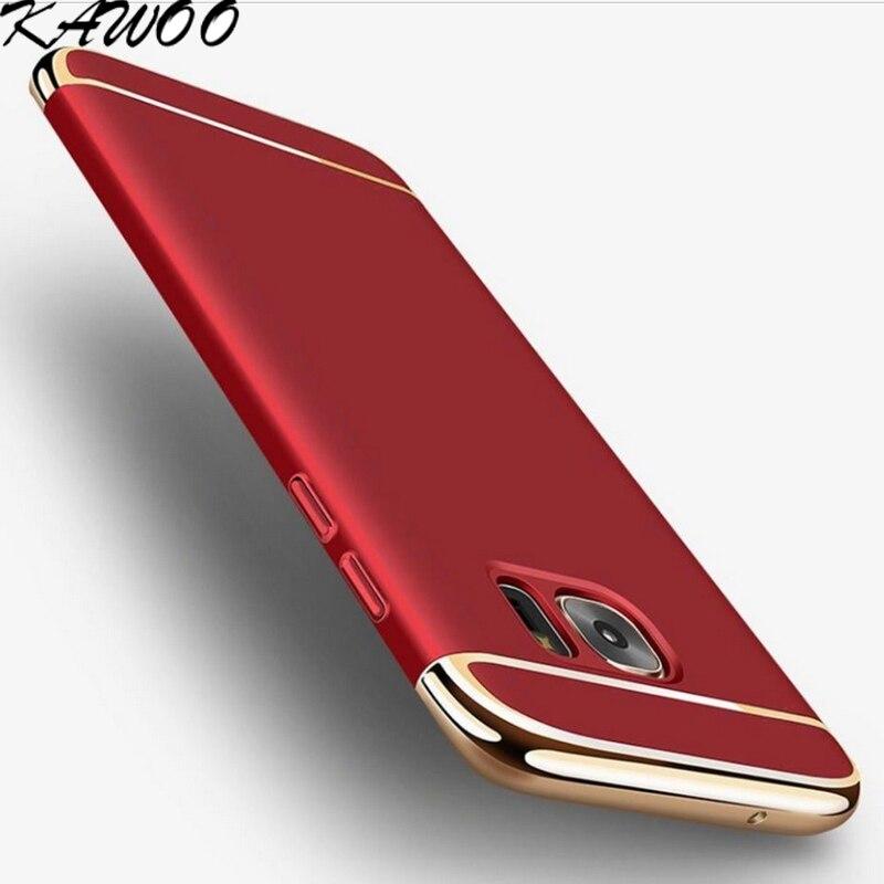 Fundas de teléfono ultrafinas mate para PC para Samsung Galaxy S7 S7 - Accesorios y repuestos para celulares