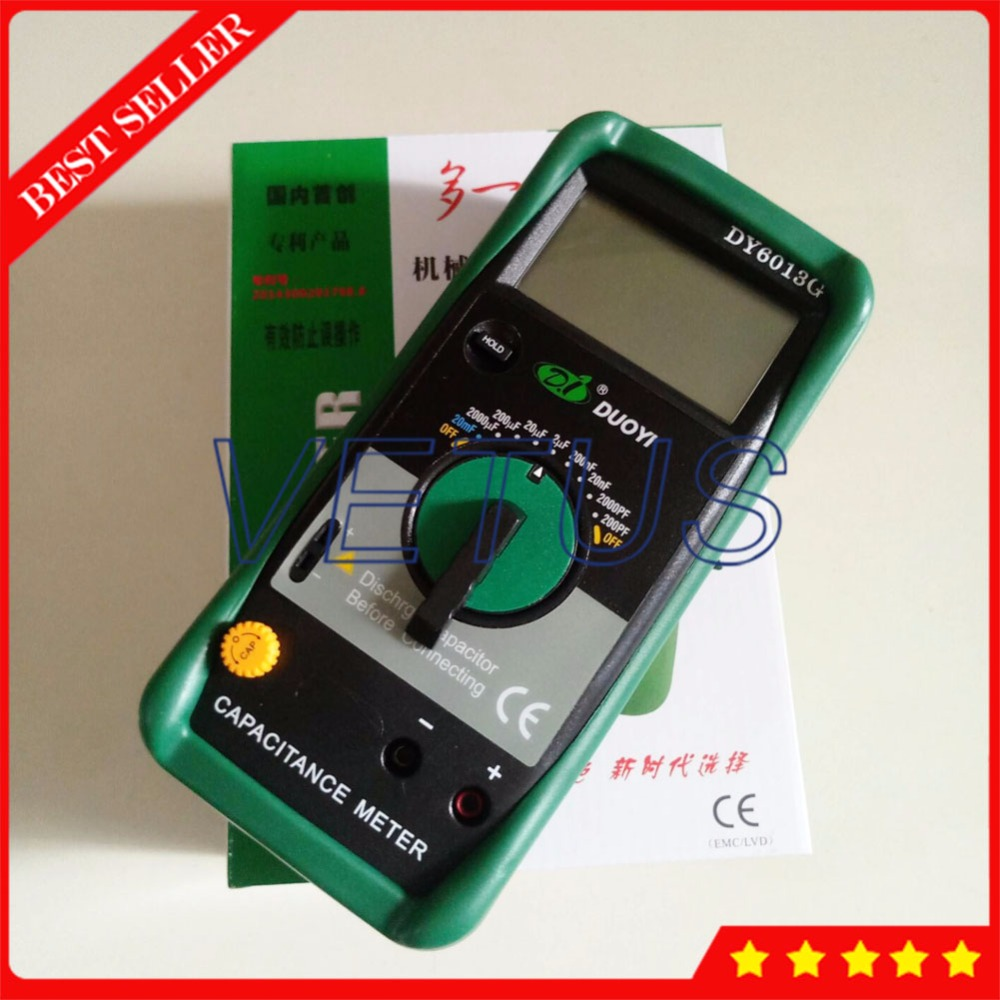 DY6013G Handheld Digital Capacitance Meter of LCR tester lcr meter dy4070g dy6243g dy6013g