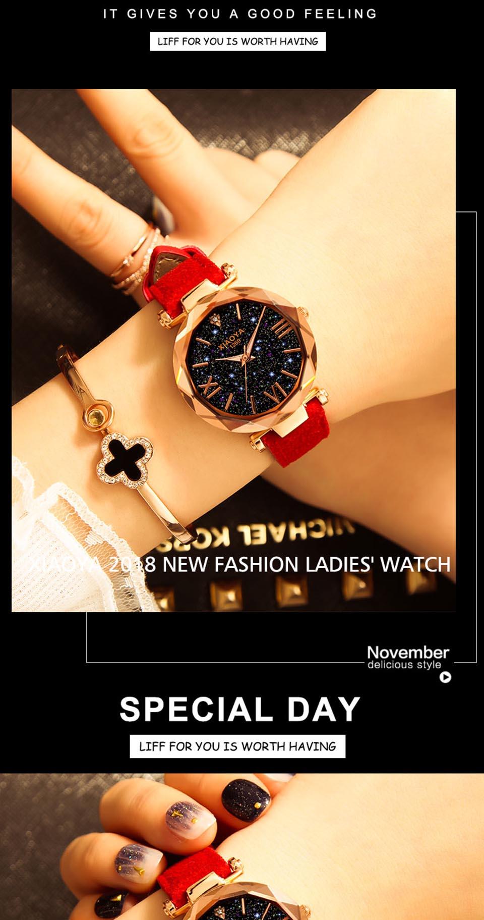 2018 Starry Sky Watch Women Minimalist Top Brand Luxury Wrist Watch For Ladies Female Clock Damski Montre Femme (7)