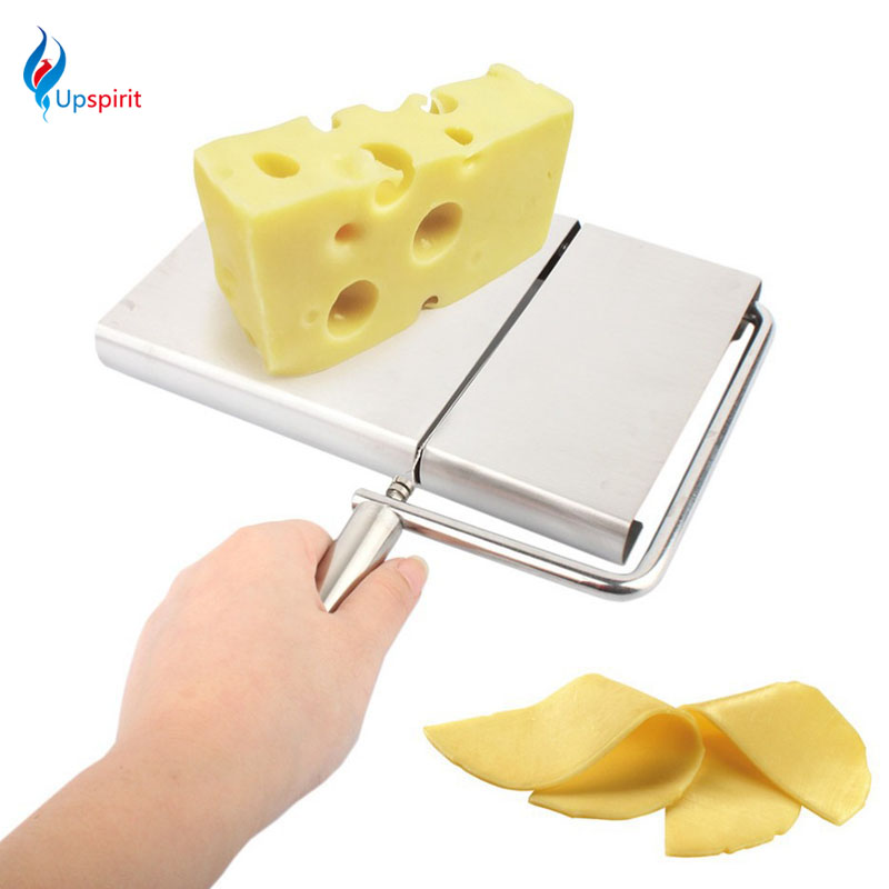 2016 New Stainless Steel Cheese Slicer Cheese Knife Butter Cutting Knives For Making Dessert As Seen