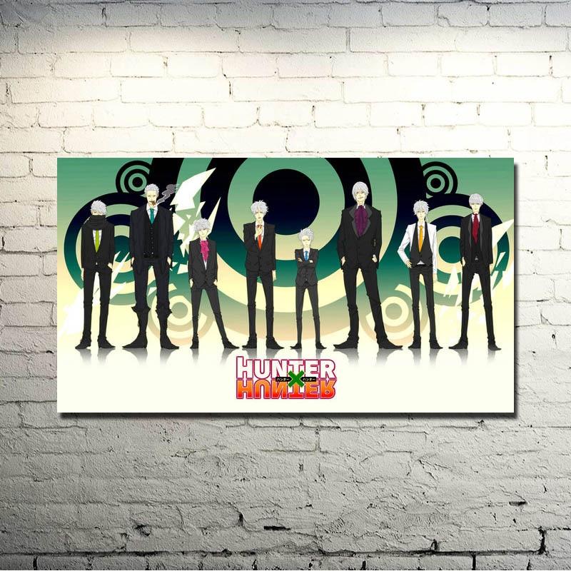 Hunter x Hunter Anime Arte de la Tela de Seda de Impresión Del ...