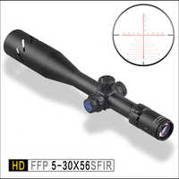 Discovery Tactics optical HD 5-30X56 SFIR FFP First focal plane Shooting Hunting Riflescope 34mm Tube optical Sight