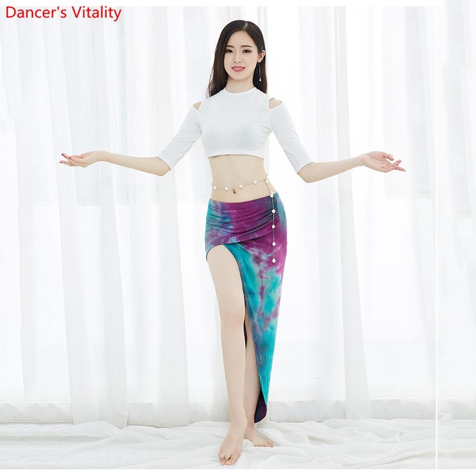 New Arrival 2019 Women Belly Dance Costume V-neck Bling Bling Sequins Top M L XL