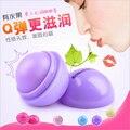 Oso romántico Lipbalm Sabor de la Fruta de Labios Hidratante Bálsamo Para Los Labios Del Bebé Cuidado de La Piel Linda Forma de la Bola Redonda