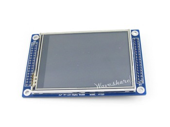 10pcs/lot 3.2inch 320x240 Touch LCD (C),3.2'' TFT display module,ILI9325,XPT2046 Controller,SPI touch ,Graphic LCD,LED backlight 1
