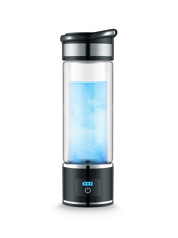 Hydrogen-rich Water Cup Water Ion Ionizer Generator Electrolysis Alkaline Intelligent Health Care Bottle new arrival hydrogen generator hydrogen rich water machine hydrogen generating maker water filters ionizer 2 0l 100 240v 5w hot