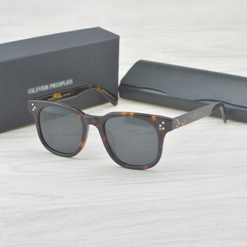 Fashion Polarized Sunglasses Afton designer oliver peoples brand ov5236 Vintage Sunglasses men oculos de sol masculinos fashion men sunglasses oculos de sol polarized sunglasses driving sunglasses tac lens 100