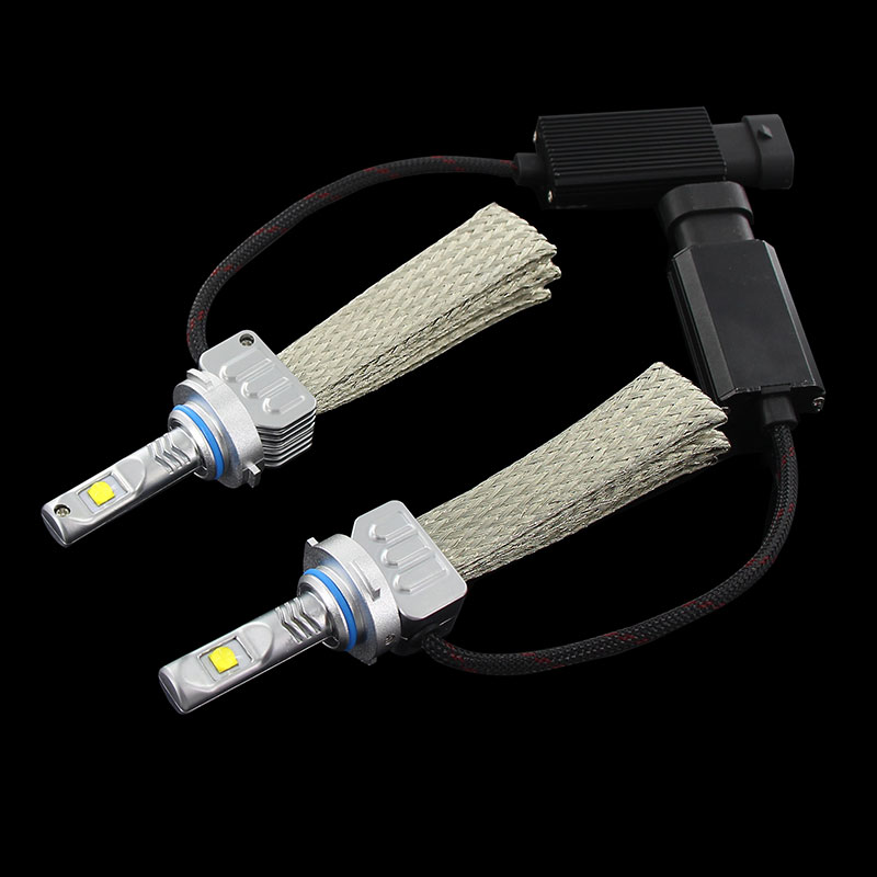 2PCS White H4 H7 H8 H9 H11 9005 HB3 9006 HB4 H10 H16JP 9012 HIR2 LED Bulb Car Headlight Kit 12000LM  XHP50 Chips  Lamp