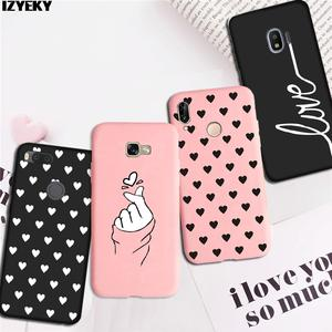 IZYEKY Case for Samsung Galaxy A7 2018 A750 A750F A3 A5 A7 2016 2017 Middle finger