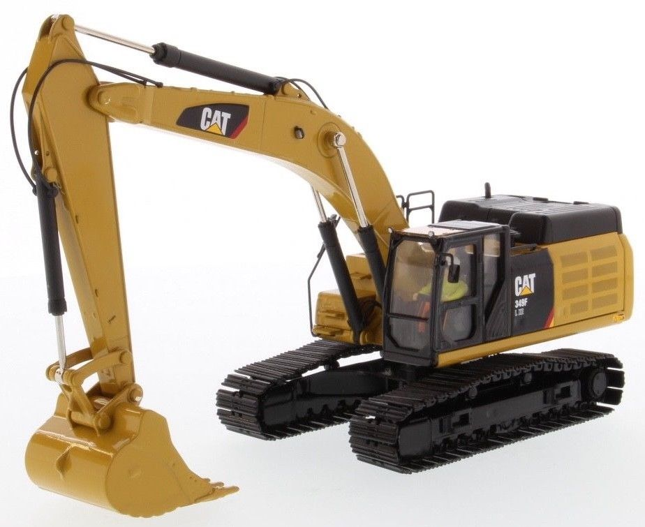 Collectible Diecast Toy Model Gift DM 1:50 Caterpillar CAT 349FL XE Hydraulic Excavator Vehicle Engineering Machinery 85943