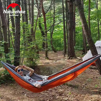 NatureHike Ultralight Portable Parachute Hammock Outdoor Camping Hunting Hanging Bed Double Person HAMMOCK