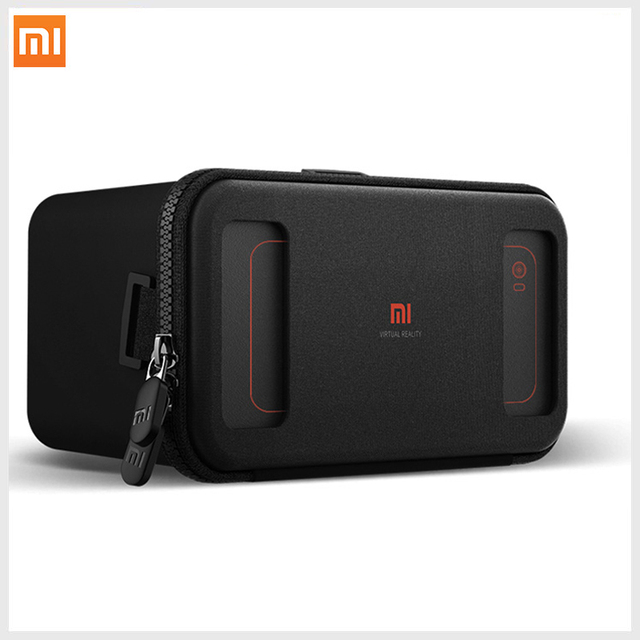 Xiaomi VR Box 3D Virtual Reality Glasses Cardboard MI VR Apply to Apple Iphone Sumsang Meizu 4.7- 5.7 inches Smartphones