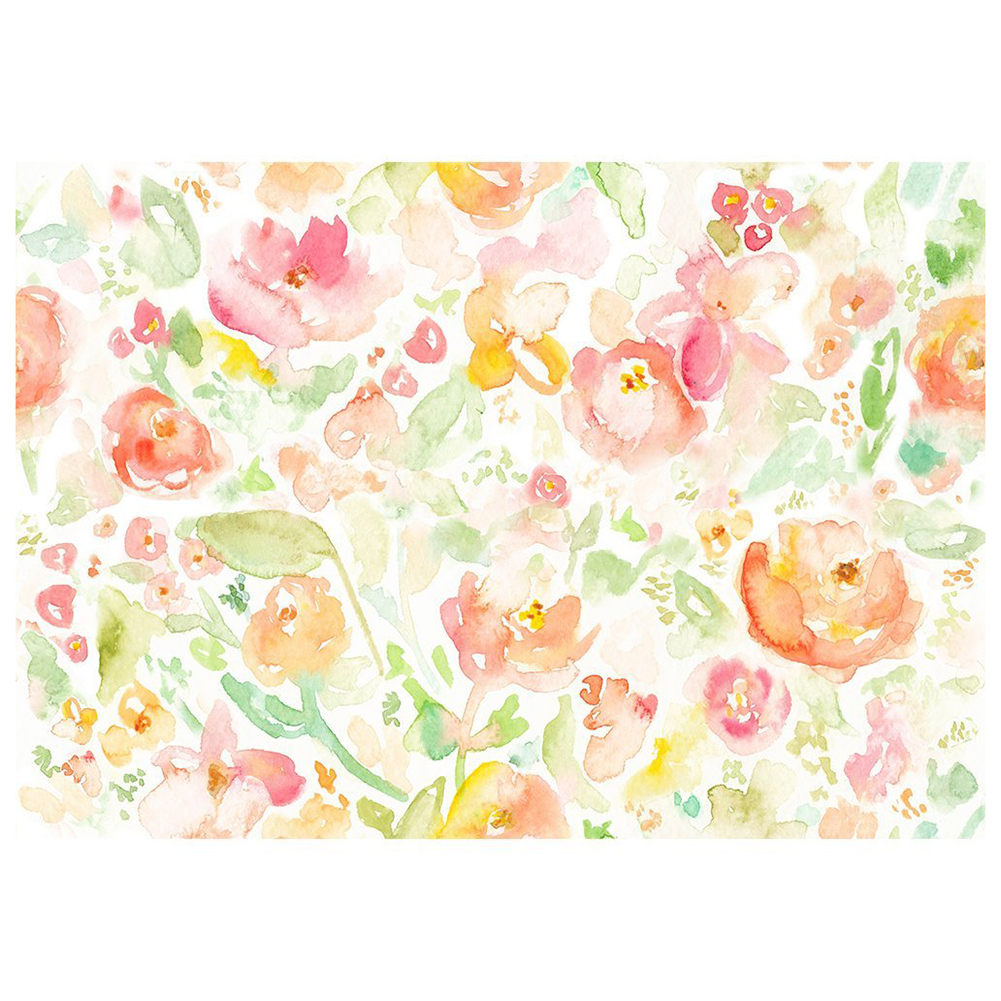 5x3ft watercolor floral backdrop oil painting blossomy garden flowers background photography studio shooting props photo album in background from consumer