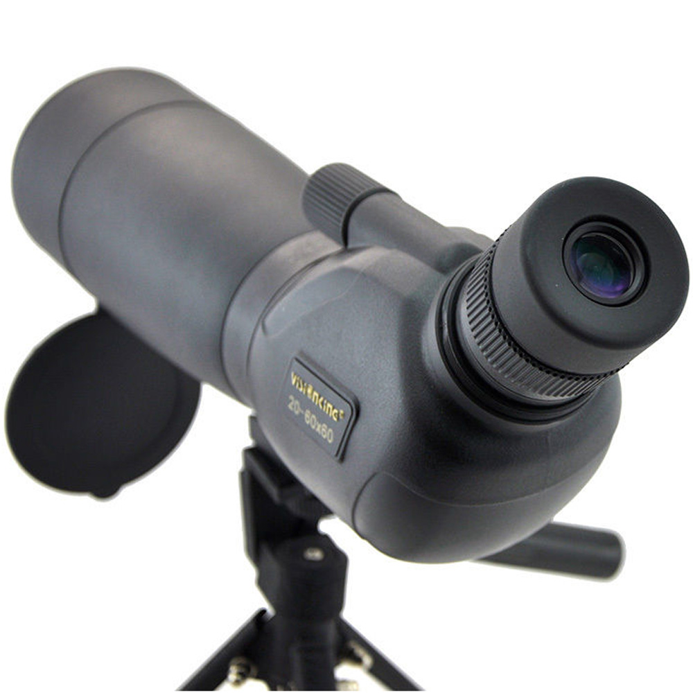 Visionking 20 60x60 Waterproof Bak4 Spotting Scope Birdwatching Target Hunting Nitrogen Guide Monocular Telescope With Tripod