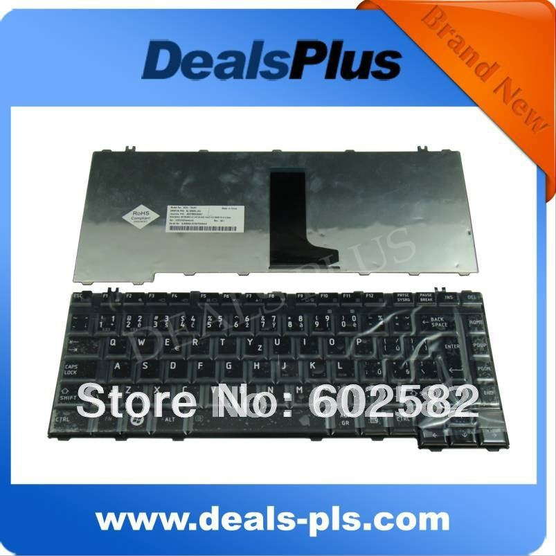 FOR Brand New Toshiba Satellite A300 A300D A305 A305D Czech Keyboard Black Glossy