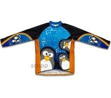 Pingüino del cabrito jersey de ciclo largo sleeeve maillot ciclismo ropa de hombre otoño chicos bike cycling clothing