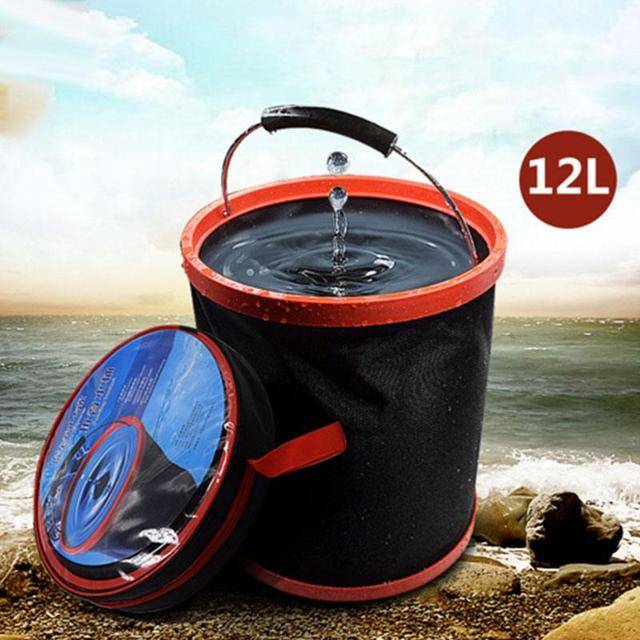 Outdoor Car Storage >> Lumiparty 12l Portable Large Capacity Outdoor Camping Fishing