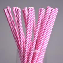 Drinking Paper Straws