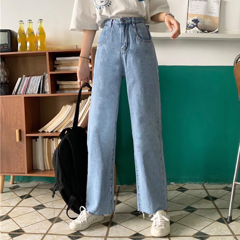 Cheap Wholesale 2019 New Spring Summer Autumn Hot Selling Women's Fashion Casual  Denim Pants FPN4800