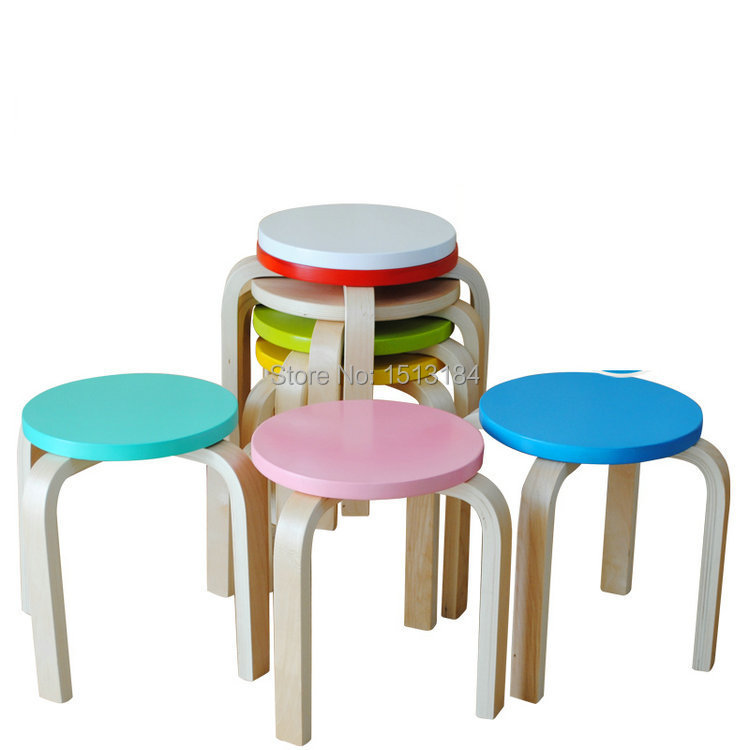 Awe Inspiring Leisure Style Smart Colorful Children Stacking Kids Wood Theyellowbook Wood Chair Design Ideas Theyellowbookinfo