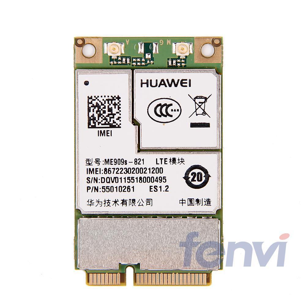New Unlocked Original HUAWEI ME909S-821 4G LTE Module MINI PCI-E Wireless WWAN FDD LTE 4G WCDMA GSM Card for Laptop Tablet huawei me936 4 g lte module ngff wcdma quad band edge gprs gsm penta band dc hspa hsp wwan card