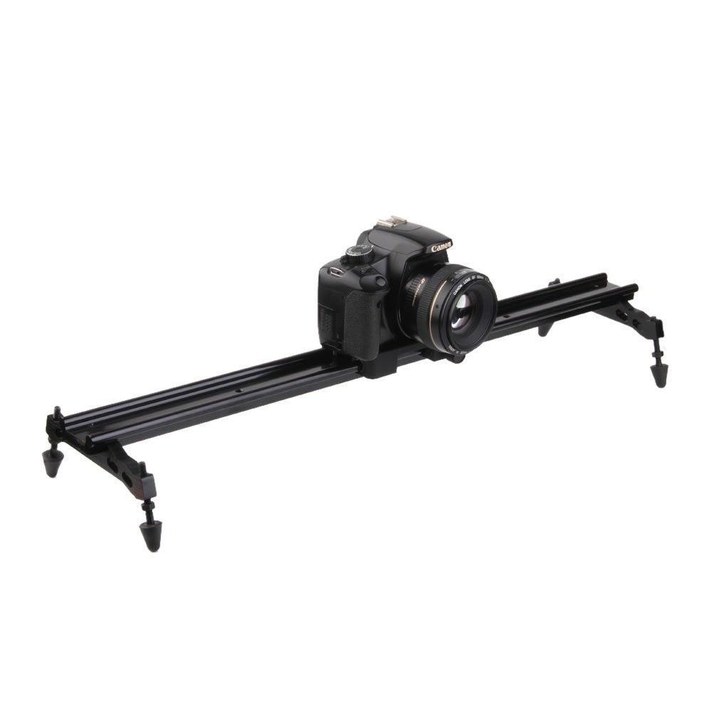 """bilder für 60 cm 23,6 """"Universal Glide Videokamera Track Slider Stativ DSLR Schiene Slide Kamera Slider Für Canon Nikon SLR kamera"""