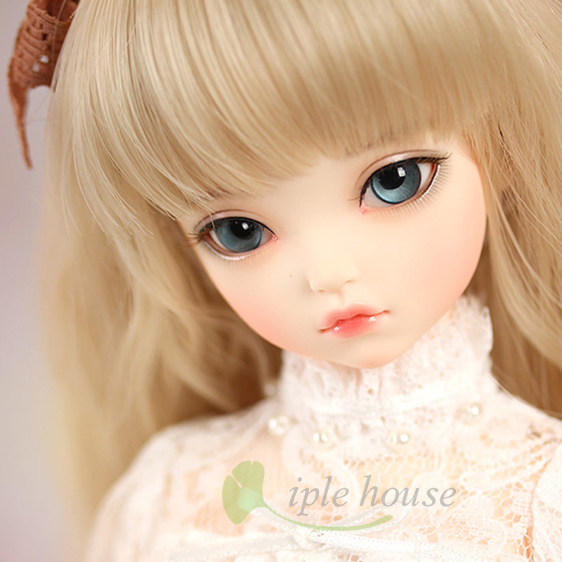 New Iplehouse IP Kid lrene bjd sd doll 1/4 body model reborn girls boys High Quality resin toys free eyes makeup shop