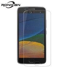 Szkło hartowane RONICAN dla Motorola Moto G5 ochraniacz ekranu 9H 2.5D osłonka ochraniająca telefon dla Moto G5 szkło hartowane