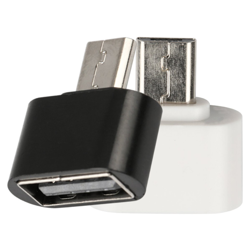 Micro USB To USB2.0 OTG Expansion Adapter Metal Housing For Cell Phone V8 Interface For Most 5-pin Micro USB Smart Phone