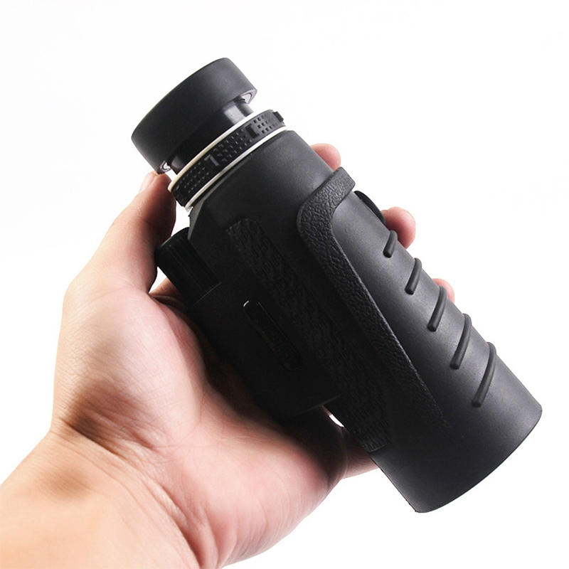 20X60 HD Clear Night Vision Optic Phone Camera Lens BAK4 Monocular Telescope Lens Outdoor Travel + Tripod Universal for Phones
