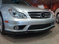Designed For Mercedes Benz W219 CLS550 CLS63 Of The Carlsson Style Carbon Fiber Front Lip Diffuser Splitter